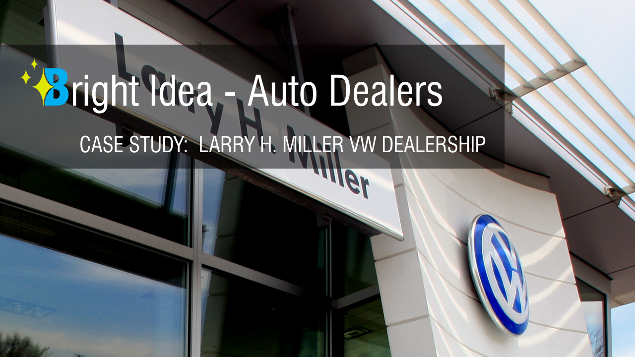 Brighten and Tighten: VW dealership upgrades lights and looks - Brightway LED Lighting