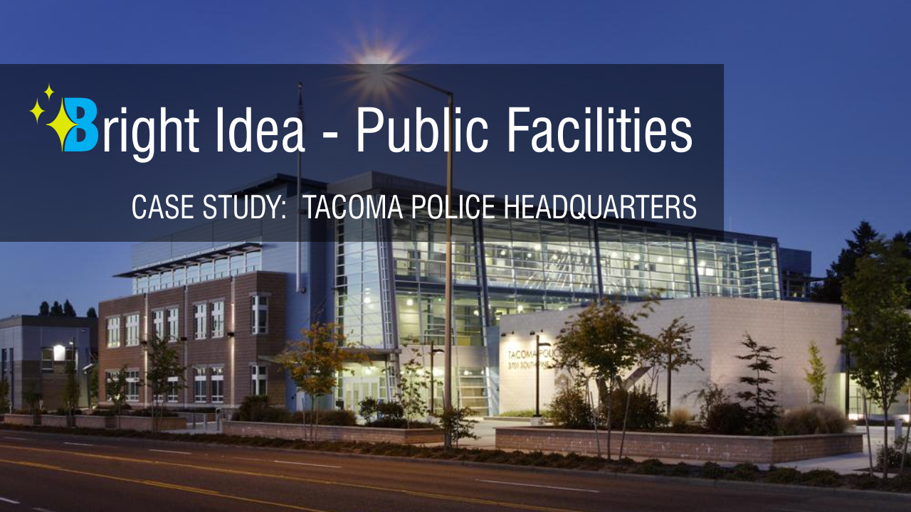 LEED Certified Tacoma Police Department Warehouse Saves