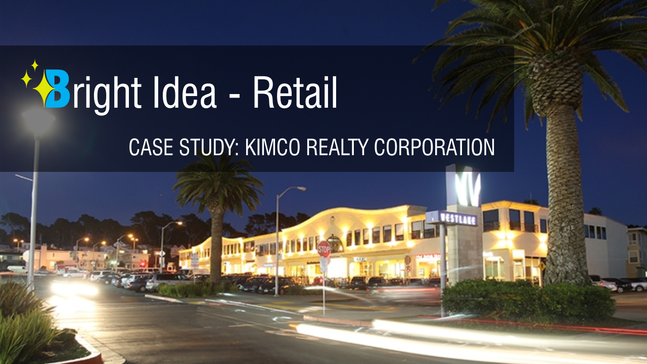 kimco enhances curb appeal safety security and shopping activity
